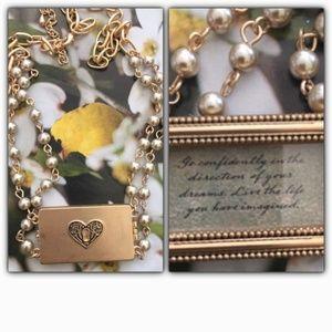 Vintage Inspired Inspirational Locket Necklace